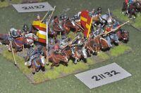25mm renaissance / generic - 16 cavalry - cav (21132)