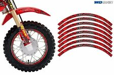 Rim Trim Kit For Honda CR CRF CRM XR Grom MX Dirt Bike Decals Racing Stickers MM