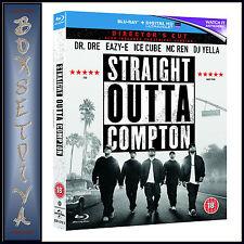 STRAIGHT OUTTA COMPTON - DIRECTOR'S CUT *BRAND NEW BLU-RAY REGION FREE*