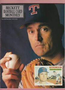 2 Beckett Baseball Monthly, March 1991,December 1990