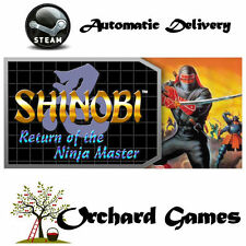Shinobi 3 III : Return of the Ninja Master : PC : Steam Digital : Auto Delivery