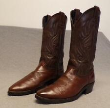 """New listing Western Cowboy Leather Riding Work Ranch Casual boots men's size 8D """"USA"""""""