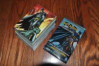 Batman The Legend 63 card base set + 5 wrappers