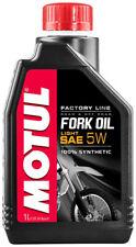 olio forcella Motul Factory line 100% sintetico gradazione 5w motocross enduro