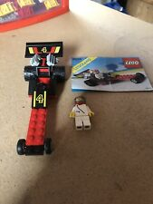Legoland Vintage Town Set 6526 Red Line Racer Complete W/ Instructions. 1989.