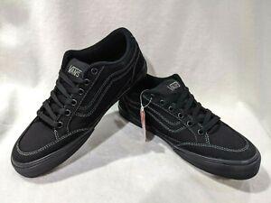 Vans Men's Bearcat Black Canvas Skate Shoes - Size 9/9.5/11.5/12/13 NWB