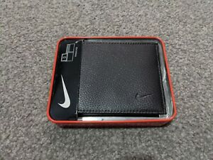 Nike Golf Leather Bifold Wallet, Passcase - Brown BRAND NEW UNUSED