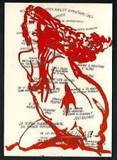 Andrea Pazienza : artisti maivisti - cartolina