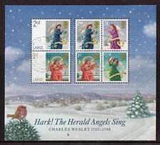 Seasonal, Christmas Used Great Britain Elizabeth II Stamps