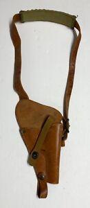 Original WWII 1943 Dated Boyt USN 38 Revolver Shoulder Holster with Bullet Loops