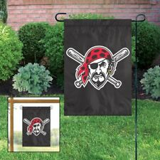 Pittsburgh Pirates Jolly Roger MLB Garden/Window Flag ~ NEW