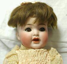 "10"" Antique "" Simon & Halbig Bisque Doll Clothes Body K star  R 126 Open Mouth"