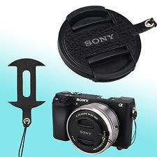 Sony ALC-F405S 16-50mm SELP1650 Leather Lens Cap Keeper Self Adhesive Black JJC