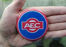 "AEC bus/lorry radiator badge  - 75mm (3"") fridge magnet or pin .  *Great gift*"
