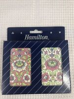 Vintage Hamilton Collection Playing Cards Double Deck NEW Sealed Pink Flowers
