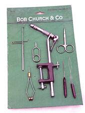 Bob Church Classic Fly Tying Tool Kit, for Making Trout-Salmon-Bass Flies