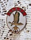 Red, White, Green, And Gold Shriners KAABA Pin or Pinback