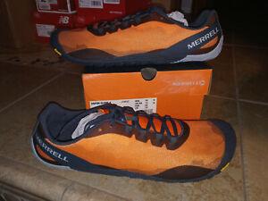 NEW  Mens Merrell Vapor Glove 4 Exuberance Trail running Shoes, size 15