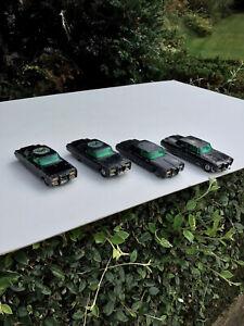4 X Corgi Toys No.268 -The Green Hornet Black Beauty ,for Restoration