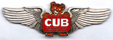 LAST of the Piper Cub Logo Deluxe Private Pilot Wings