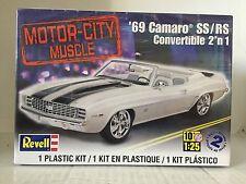 +++ Revell US Monogram 1/25 '69 Camaro™ SS/RS Convertible 2'n 1 85-4929