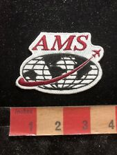 AMS ADVERTISING Patch (? Possibly Aviation Management ?) 82YE