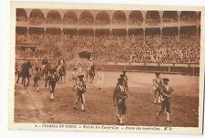 Bullfighting/Corrida de Toros - Paseo des cuadrillas - Vintage postcard