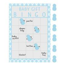Little Peanut Boy 10 Guest Bingo Game Blue Elephant Baby Shower