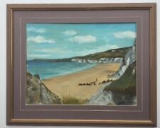 E D Hamilton  Framed Oil Painting