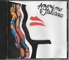 """ANONIMO ITALIANO - RARO CD OMONIMO FUORI CATALOGO """" ANONIMO ITALIANO """""""