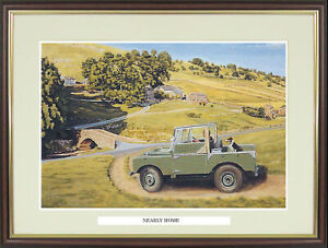 """Land Rover picture """"Nearly Home"""" by Trevor Mitchell - NGN58"""