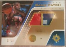 2004-05 Ultimate Collection Game Patches Limited #IT Isiah Thomas/25 (Pistons)