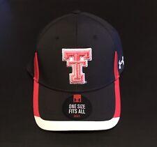 48a3ae9c5af Texas Tech Red Raiders Under Armour UA Hat NWT Men s OSFA Adjustable Pink  Logo