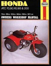 New Honda ATC70, 90, 110, 185 & 200 (71 - 85) Haynes Repair Manual