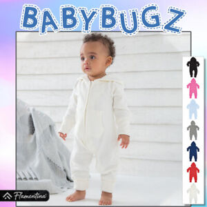 Baby And Toddler All-In-One Organic Cotton Babybugz Boys Girls Soft Brushed Top