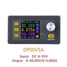New 50V 5A Step-down DC-DC Adjustable Digital Regulated Power Supply Module O1F2
