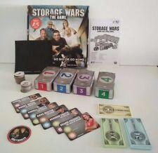 """STORAGE WARS - THE GAME"" by Spin Master Storage Locker Auction 100% Complete"