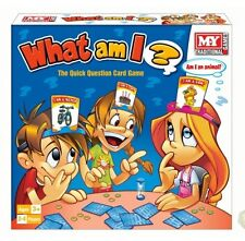 Traditional Kids Children Fun Card Game With Headbands What Am I ? Guessing Game