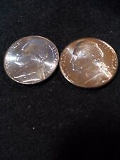 2004 P & D Uncirculated Keelboat Jefferson Nickles