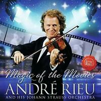 Andre Rieu Magic Of The Movies (2012) 19-track CD Album + DVD Neu / Ungespielt