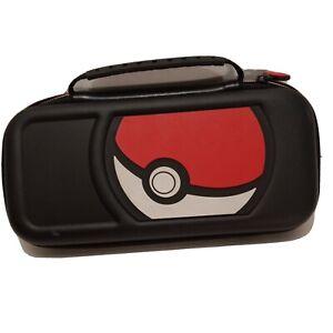 Official Nintendo 3DS Black Pokemon Pokeball Carrying / Storage / Travel Case
