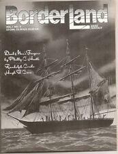 BORDERLAND, Dark Fantasy #2, 1985.  HUGH B. CAVE, JOSEPH PAYNE BRENNAN.