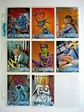 1997 FLEER/SKYBOX X-MEN TIMELINES *NEW RECRUITS* COMPLETE 8 CARD CHASE SET HTF
