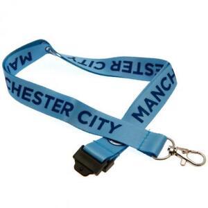 Manchester City F.C.Lanyard  - Official  Merchandise - Free U.K. P&P