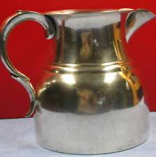 artisanat d'art, métal argenté, Valenti H : 17 cm, objet à défaut