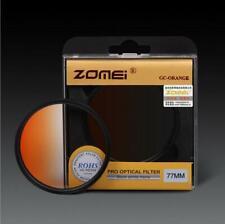 ZOMEI 52-82mm Gradual Filter Gradient change Orange Filter for Canon Nikon DSLR