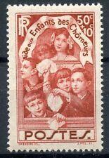STAMP / TIMBRE FRANCE NEUF N° 312 * AU PROFIT DES ENFANTS DES CHOMEURS