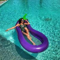 Large Inflatable Swimming Pool Float Big Swim Mattress Circle Ring Water Party