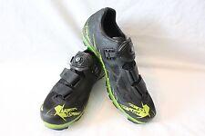 New Pearl Izumi Men's X-Project 1.0 MTB Cycling Shoes EU 43 US 9 Black $280 SPD