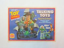 1996 Disney's Toy Story, Vintage Burger King Paper Tray Liner Place Mat